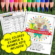 Christmas Holiday Trivia Challenge - Science Color By Number