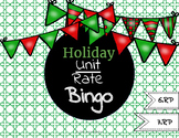 Christmas/Holiday Unit Rate Bingo