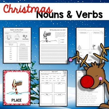 Christmas / Holiday / Winter Nouns and Verbs