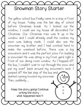 Christmas/Holiday Literacy Worksheets (Elementary)