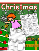 Christmas Holiday Writing Activity Tic Tac Toe Choice Board