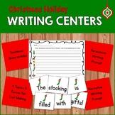 Christmas Holiday Writing Centers