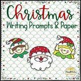 Christmas Holiday Writing Prompts and Writing Paper