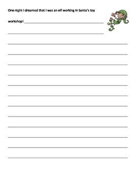Christmas Holiday Writing Prompts