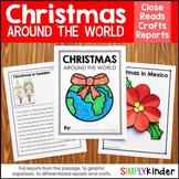 Christmas Around the World Kindergarten Research Bundle