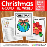 Christmas Around the World Kindergarten Research GROWING Bundle
