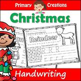 Christmas PreK Literacy Activity