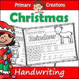 Christmas PreK Literacy Activity
