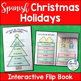 Christmas Holidays: Spanish Interactive Flip Book