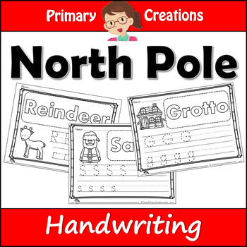 Christmas Holidays at the North Pole Literacy (ELA) and Maths Preschool Bundle