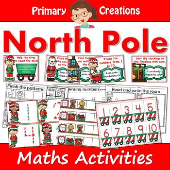 Christmas Holidays at the North Pole Maths Activities