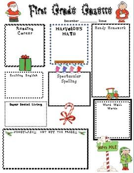 Christmas Home Learning Newsletter