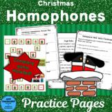 Christmas Homophones Scavenger Hunt