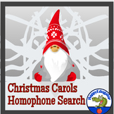 Christmas Carols Homophones Search