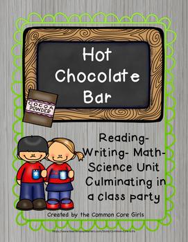 Christmas Hot Chocolate Bar: Easy Prep, Activity Reading, Writing, Science, Math
