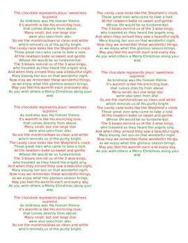 Christmas Hot Chocolate Poem