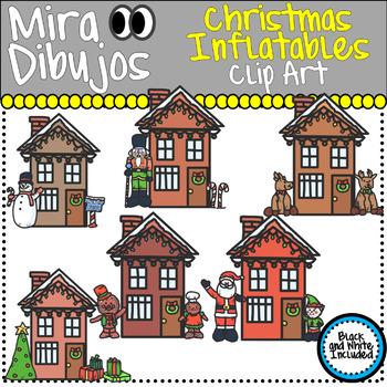 Christmas Houses Inflatables