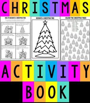 CHRISTMAS - CHRISTMAS TREE ACTIVITY BOOKLET - Maths/Literacy/Craft/Fun