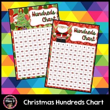 Christmas Hundred Chart
