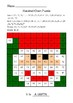 Christmas - Hundred Chart Hidden Pictures Puzzles