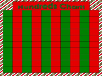 Christmas Hundreds Chart Activities