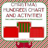 Christmas Hundreds Chart Activities