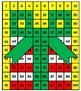Christmas Hundreds Chart Hidden Picture Activities for Math Santa Hat Reindeer