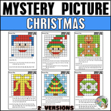 Christmas Hundreds Chart Mystery Picture