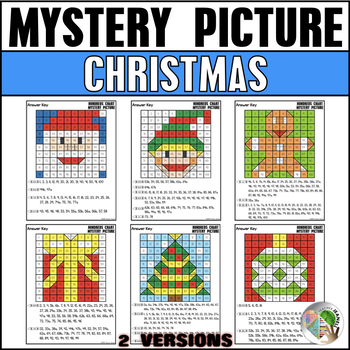 Christmas Hundreds Chart Mystery Picture by Teacher ...