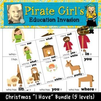 "Christmas ""I Have"" Games (Bundle)"