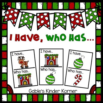Christmas I Have, Who Has Game