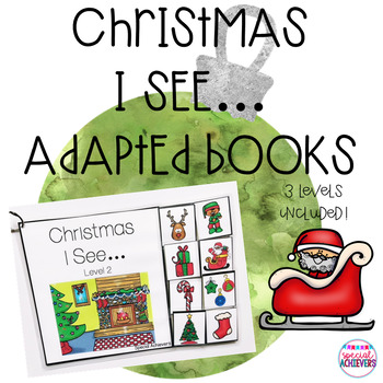 Christmas I See... Adapted Books