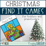 Christmas Find It Activities for Toddlers and Preschoolers