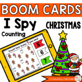 Christmas I Spy Counting Activity Digital Game Boom Cards