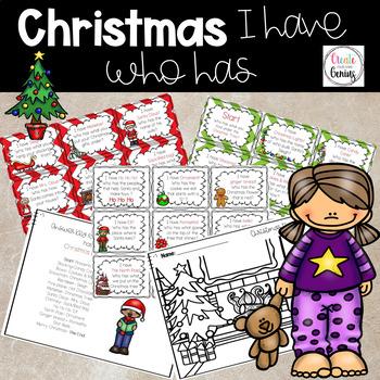 Christmas - I have Who Has Game!