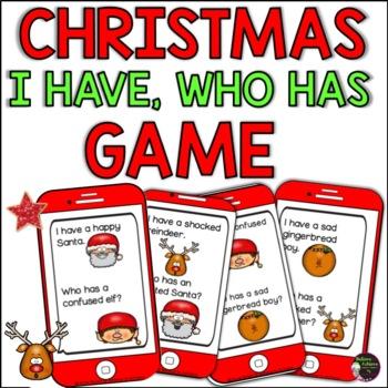 Christmas Emoji- I have, Who has?