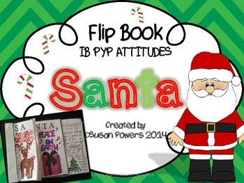 Christmas IB PYP Attitudes Flip Book Activity