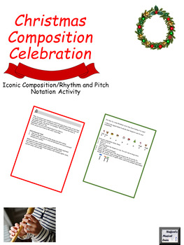 Christmas Iconic Music Composition Project: DISCOUNTED UNTIL 10/1/2018