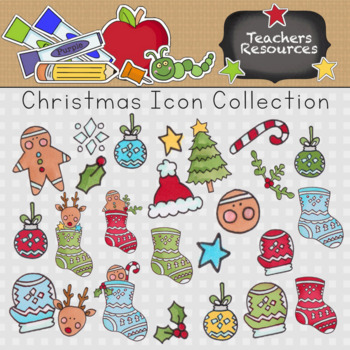 Christmas Icons Clip Art Collection