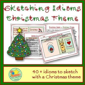 Idioms Word Work - Christmas