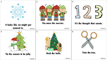 Christmas Idioms Freebie