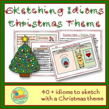 Idioms Word Work - Christmas
