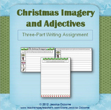 Christmas Imagery & Adjectives Writing