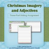 Christmas Imagery & Adjectives Writing