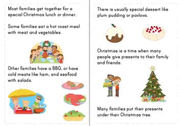 Christmas In Australia Chapter Style Easy Reader