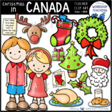 Christmas In Canada Clip Art