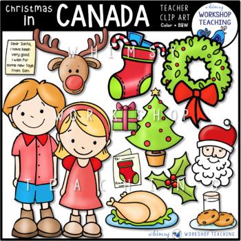 Christmas In Canada Clip Art