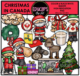 Christmas In Canada Clip Art Bundle {Educlips Clipart}