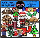 Christmas In England Clip Art Bundle {Educlips Clipart}