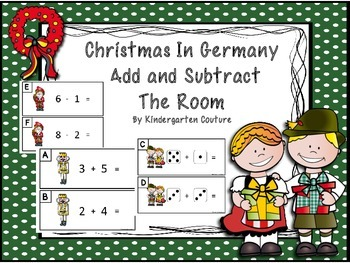 Christmas In Germany -Add and Subtract The Room